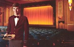 Image result for movie theater attendant