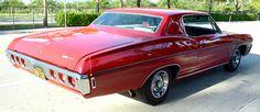 1968 Chevrolet Impala SS427, 427/385hp 4bbl V8, TH400 Auto and 12bolt Axle