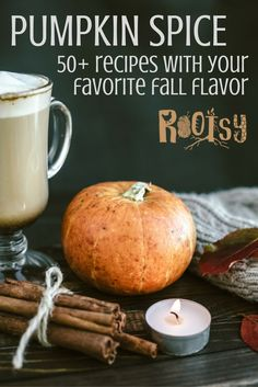 Pumpkin spice season is here! If you're a fan of pumpkin spice, you'll enjoy the collection of recipes here -- there's a little something for everyone, from drinks to breakfast and desserts.