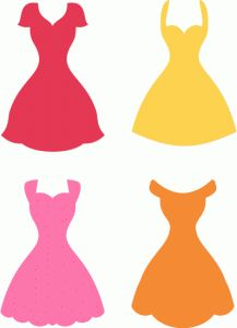 Silhouette Design Store - View Design assorted dress shape avail for commercial use with license Silhouette Images, Silhouette Portrait, Silhouette Design, Silhouette Online Store, Dress Card, Dress Shapes, Silhouette Cameo Projects, Vinyl Crafts, Paper Dolls