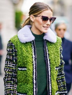 According to Olivia Palermo,This Is How We'll Be Wearing Stripes in 2018 via @WhoWhatWearUK