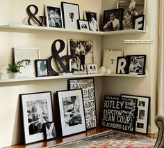 撮った写真はどう飾る?海外のオシャレなお家の写真の飾り方アイディア集の画像(2)