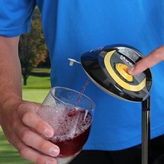 Great gift idea for wine lovers - driver golf bag wine dispenser