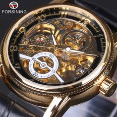 $17.99 (Buy here: https://alitems.com/g/1e8d114494ebda23ff8b16525dc3e8/?i=5&ulp=https%3A%2F%2Fwww.aliexpress.com%2Fitem%2F2016-Forsining-Hollow-Engraving-Skeleton-Casual-Designer-Black-Golden-Case-Gear-Bezel-Watches-Men-Luxury-Brand%2F32680658456.html ) 2016 Forsining Hollow Engraving Skeleton Casual Designer Black Golden Case Gear Bezel Watches Men Luxury Brand Automatic Watches for just $17.99
