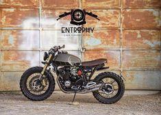 Scrambler Swoon: Yamaha XJ400 by @entrophymotorbike. #yamaha #xj400 #scrambler
