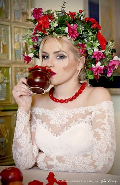 sesja-niepolomice-floral-concept-store (2) Lace Wedding, Wedding Dresses, Concept, Crown, Store, Floral, Fashion, Bride Dresses, Moda