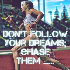 """13 Likes, 3 Comments - The Female Athlete Blog (@female__athletes) on Instagram: """"You need speed. """"Don't follow your dreams, CHASE them"""". @chan_taemac #life #fitness…"""""""