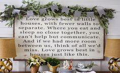 .: Decking the Halls with Between You And Me Signs