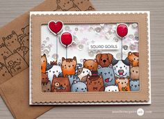 Shaker Card Options Video by Jennifer McGuire Ink