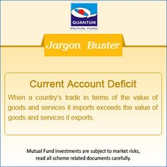 What is #CurrentAccountDeficit in the financial context? #JargonBuster‪