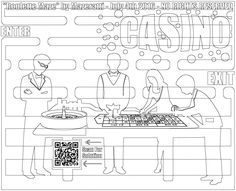 coloring pages of casino - photo#44