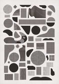 — Graphic Design / Pattern Alphabet.