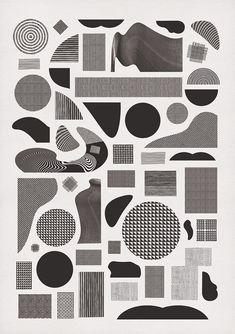 — Graphic Design / Pattern Alphabet.