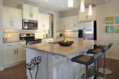 The Bellwood Kitchen In Mahogany Trico Homes Check Out The New