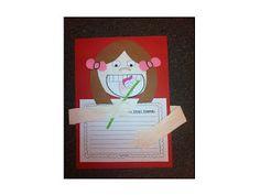 From The Teacher Fairy: Dental Health craftivity