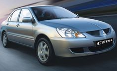 Another Mitsubishi, though I admit the Cedia looks a lot like the 2003 Accord. Which one copied which?