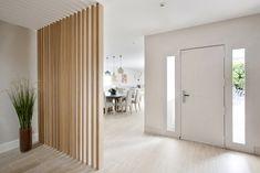 Living Room Partition Design, Room Partition Designs, Hallway Designs, Living Room Trends, Living Room Inspiration, Home Living Room, Living Room Designs, Design Hall Entrada, Piece A Vivre