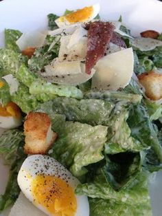 Ceaser Salad @BookaRestaurant in Aptos