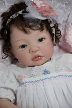 Reborn Doll Baby Girl Shyann Aleina Peterson~ Delta Dawn~ Sarah Louise Gown | eBay