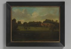 Robert Young Antiques - Collection. English Naive School House Portrait #FolkArt