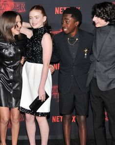 Stranger Things cast at the Season 2 premiere