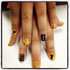 Let's go Buccos!!!! My Pittsburgh Pirates nails!!