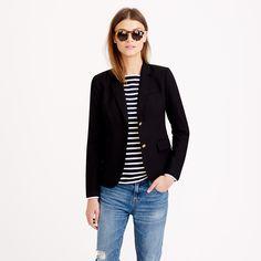 Schoolboy blazer in black : blazers | J.Crew - classic style. Need more blazers in my life!