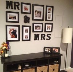 A perfect way to display your wedding photos.