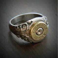 Bullet Ring, Bullet Jewelry, Fashion Bracelets, Fashion Jewelry, Bullet Crafts, Silver Jewelry, Silver Rings, Men's Jewelry, Antler Jewelry