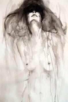 "Saatchi Online Artist: Fiona Maclean; Acrylic, 2013, Painting ""Diana"""