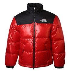 North Face Mens Down Jacket Light Red Outlet North Face Coat 7e36b6494