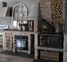 My kitchen. Mountain Cottage, Rustic Kitchen, Cabin Ideas, Retro, Building, Kitchens, Vintage, Home Decor, Homemade Home Decor