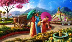 Gardens of Time | Flower Festival