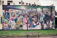 Каким был Лондон до Бэнкси: уличный арт 80-х годов • НОВОСТИ В ФОТОГРАФИЯХ