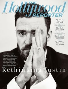 The Hollywood Reporter magazine Justin Timberlake Costume designers Divas clash