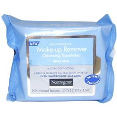 #6: Neutrogena Makeup Remover Cleansing Towelettes, Refill Pack, 25 Count