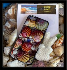 Hawaiian Sunrise Shells iPhone 5 Featherlight Cellphone Hard Cover