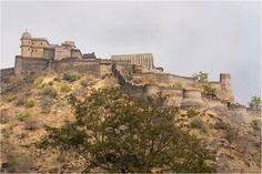 Kumbhalgarh: The Great Wall of India. Rajasthan