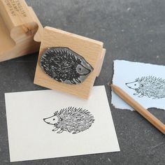 personalised image rubber stamp by english stamp | notonthehighstreet.com