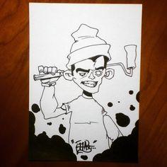 A new character... #art#artsy#artistic#artwork#artbook#graff#graffart#grafffigure#graffcharacter#graffiti#graffitiart#graffitifigure#graffiticharacter#character#figure#streetart#wallart#urbanart#pencil#pencildrawing#drawing#draw#sketch#sketching#sketchbook#blackbook#handmade# Don't forget to check out my facebookpage!!!