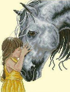 Ñiña con caballo