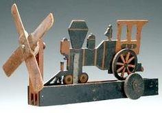 Antique train Whirlygig