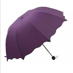 Purple Umbrella Brand new.. perfect for rainy weather  PRICE IS FIRM!!.. No Trades Accessories Umbrellas