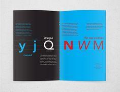 Avenir Type Specimen Booklet on Behance