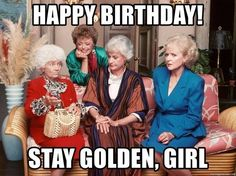 "Top 24 Happy Birthday Meme For Her-- These Birthday Memes for you. So scroll down and keep reading these ""Top 24 Happy Birthday Meme For Her"". Golden Girls Birthday Meme, Happy Birthday Quotes For Friends, Funny Happy Birthday Wishes, Funny Happy Birthday Pictures, Happy Birthday Girls, Funny Birthday, Birthday Greetings, Golden Girls Meme, 21 Birthday"