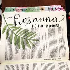 Image result for hosanna bible journal