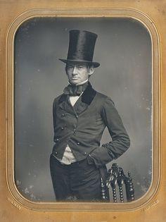 Daguerreotype created by S. L. Holman, Norwich, CT (via Dennis A. Waters Fine Daguerreotypes)