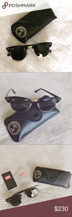 New! Ray-Bans! Unisex; look great in males or females! Classy, everyday sunglasses. New, never used. Ray-Ban Accessories Sunglasses