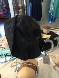 This beautiful and stunning 1930s Black Flapper Turban Cloche Satin Hat #sold on layaway before it was listed online.  We just had to show this beautiful hat.  It will be mailed to its new owner in Scotland next month. We appreciate the business, thank you enjoy the hat.   www.vintageclothin.com   #1930 #1930s #1930hat #1930shat #1930sclochehat #1930hat #vintagehat #retrohat #vintage #vintageclothin #vintagefashion #vintagefind #vintagefinds #black #hat #vintageseller #vintageshop…