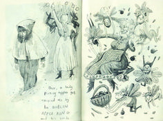 Sketchbook Sneak: Briony May Smith's Enchanting Characters from Myth and Folklore